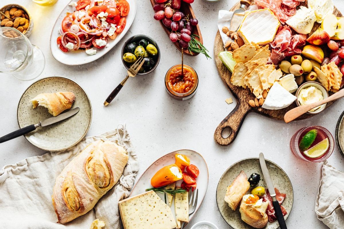 platter of tapas
